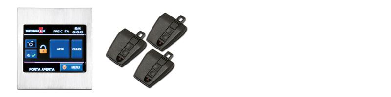 Serrature motorizzate - configurazione X-Touch